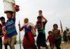 Over 1200 people fled Arakan in Myanmar and took refuge in Mizoram