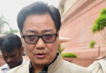 First country to partner with Facebook for help in the state of disaster India: Rijiju