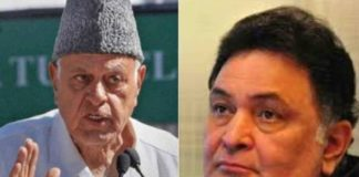 Complaint against Farooq Abdullah, Rishi Kapoor for comment on POK
