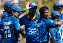 411 runs at six wickets in Sri Lanka practice match