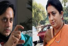 Tharoor targets for 'Maharaja' remark