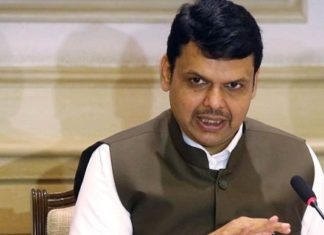 Helicopter's Force Landing carrying Fadnavis