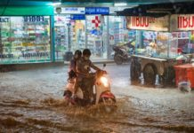 Flood-warning