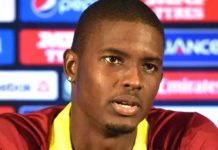 Captain Holder of West Indies was suspended from the second Test against New Zealand