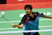 Srikanth at fourth place, target in top 100