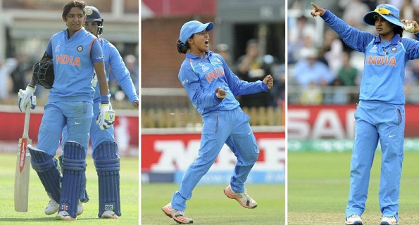 Mithali, Ekta and Harmanpreet, selected in the ICC's best team