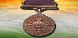 Parmavir chakra given to 21 army personnel after independence
