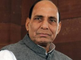 Congress' defeat '' wet with head turning '' - Rajnath
