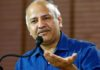 Are the Lt Governor trying to save the corrupt system: Sisodia