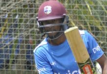 West Indies practice against short ball before the second Test