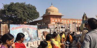 Women at Basant Panchami