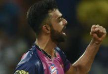 Indian fast bowler Jaidev Unadkat