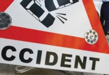 Fog learn eleven eleven, big road accident in Sikar