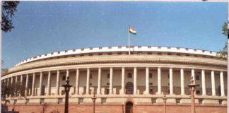 Jaitley presented the Economic Survey on Parliament