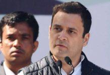 Rahul gandhis allegations
