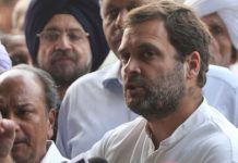 "Congress has called ""the politics of the Modi government"" to put Rahul behind the Republic Day celebration"