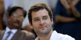 Rahul in Amethi faces protesters angry