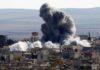 Russian air strikes