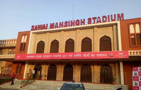 RAILS domestic IPL match at Sawai Mansingh Stadium