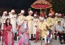 jaipur royal family holi festival-city palace