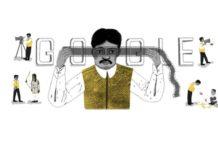 Dada Saheb Phalke, Google, doodle