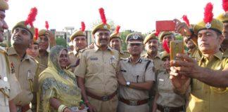 Police commissioner, police service