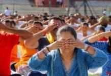 Vasundhara Raje's Hatha Yoga
