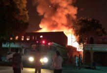 fire, wood Gaudam, Jaipur, crisis