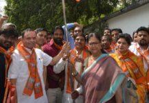 BJP, biggest, strength, Vasundhara Raje