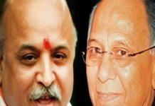 praveen bhai Togadia, political battle