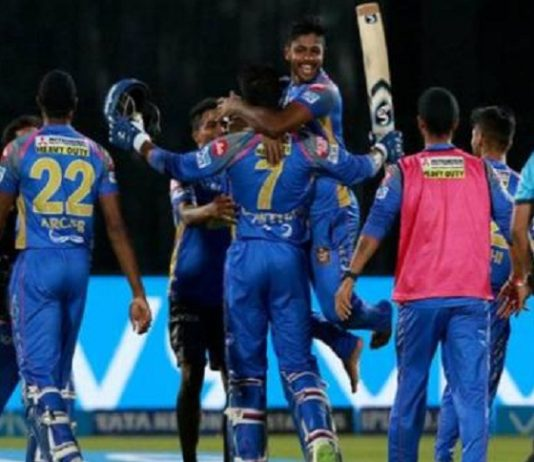 IPL matches, Rajasthan Royals, Mumbai Indians, lose