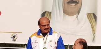 Hotel businessman of Sawai Madhopur and India's Paralympic shooter in Trap and Double Trap, Balendu Singh won gold medal in the Emirates Cup 2018.