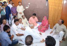 Vasundhara Raje,mourns,demise,Ramkishna Verma