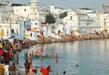 Pushkar Lake, rescued,Bisalpur plan, drying