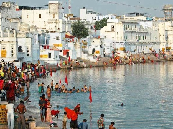 Pushkar Lake, rescued,Bisalpur plan, drying