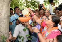 chief minister,vasundhara raje,binds,prinde