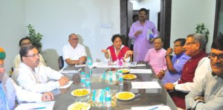 rajasthan bjp, placed, one-hundred-eighty, 180 seat, target, rajasthan, bjp Core,committee meeting