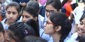 Announced, result,CBSE-12, third rank,country, Desh Bopraj, Jaipur
