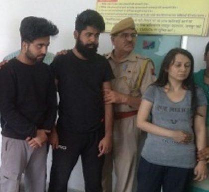 Jaipur, Honey Trap, Priya Seth, daughter, professor, trapped, jail