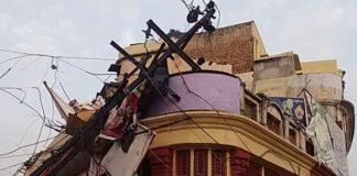 Rajasthan,storm, blind lied, twenty people, thousand, animal, bird, died