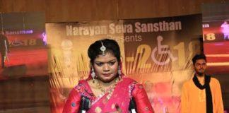 Narayan Seva Sanstha, Divyang, fashion- talent show, Ravindra Theater, Jaipur, Divya 2018