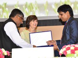 Opp Yadav, doordharsan, Rajasthan, awarded, Lumba, International Media Award