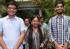 Chief Minister,Vasundhara Raje, meets, Clayet T0ppers, Aman- Anmol