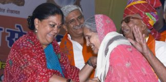 Democracy fighters kept democracy alive in emergency: Vasundhara