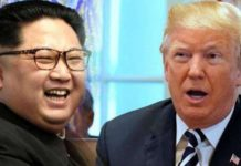 Historical, meeting, Singapore, between, Donald Trump, Kim Jong