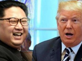 Historical, meeting, Singapore, between, Donald Trump, Kim Jong