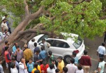 Lord Ram,Hanumanji, pleased, survived,great disaster, jaipur accident,Car, tree,down, Jalam Singh, Aniruddha Sugandha