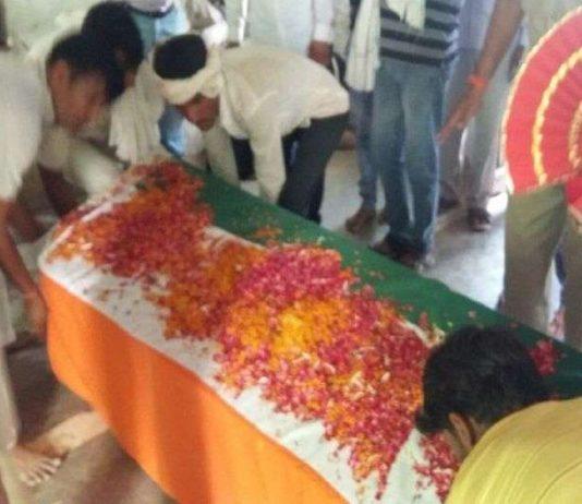 Funeral, state, honors, slain, Jabanj, martyrs, country, bsf