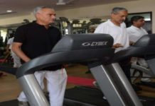 PM Modi, fitness challenge, DGP Gallhotra, ips officers, showed up, gym, phq