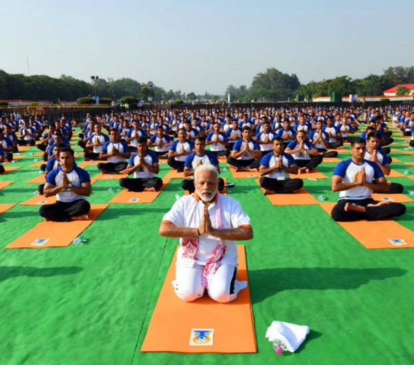 Prime Minister, Modi said, Yoga, world, most powerful, Unifying, Forces